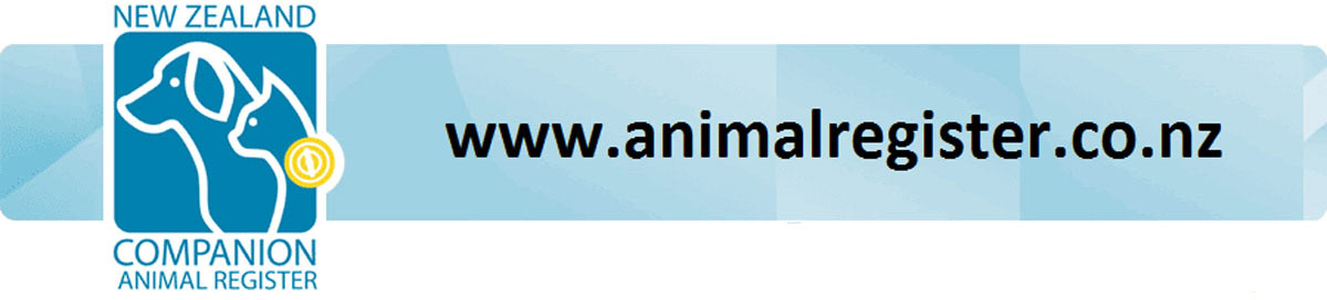 nz companion animal register